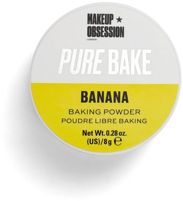 Wypiekany sypki puder bananowy do twarzy - Makeup Obsession Pure Bake Baking Powder Banana — фото N1