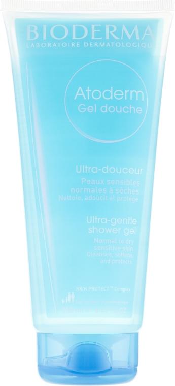 Delikatny żel pod prysznic i do kąpieli do skóry suchej i delikatnej - Bioderma Atoderm Gentle Shower Gel