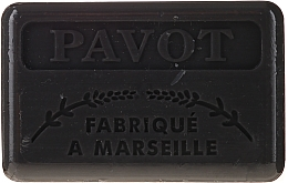 Kup Marsylskie mydło w kostce Mak - Foufour Savonnette Marseillaise Pavot