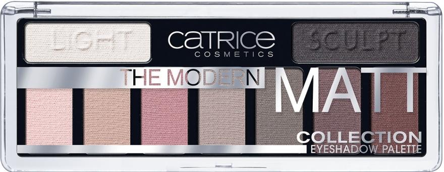 Paletka matowych cieni do powiek - Catrice The Modern Matt Collection Eyeshadow Palette