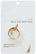Kup Maska na tkaninie do twarzy z ekstraktem z ryżu - Eunyul Daily Care Mask Sheet Rice