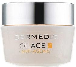 Kup Odżywczy krem przeciwstarzeniowy do twarzy na noc - Dermedic Oilage Repairing Night Cream