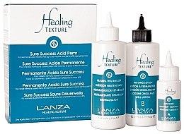 Zestaw do trwałej ondulacji włosów - Lanza Healing Texture Sure Success Acid Perm (neutralizer 118 ml + lot 82 ml + activator 21 ml) — фото N1