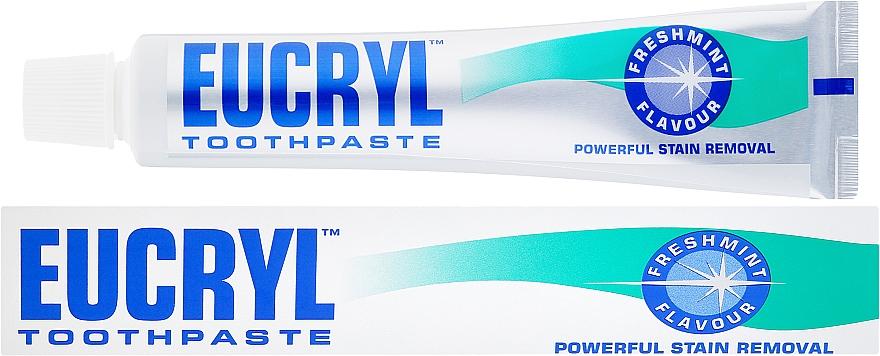 Pasta do zębów przeciw przebarwieniom - Eucryl Freshmint Flavour Toothpaste