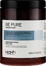 Detoksykująca maska do włosów przetłuszczających się - Niamh Hairconcept Be Pure Detox Mask — фото N3
