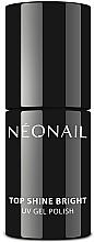 Kup Nabłyszczający top coat do lakieru hybrydowego - NeoNail Professional Top Shine Bright UV Gel Polish