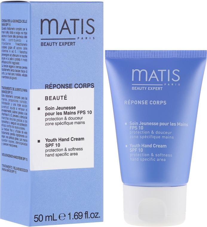 Odmładzający krem do rąk SPF 10 - Matis Réponse Corps Beauté Youth Hand Cream — фото N1