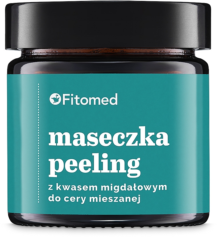 Maseczka-peeling z kwasem migdałowym do cery mieszanej - Fitomed Peeling Mask With Almond Acid