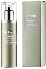 Kup PRZECENA! Spray do twarzy dla kobiet i mężczyzn do cery odwodnionej - M2Beaute Ultra Pure Solutions Facial Nano Spray *