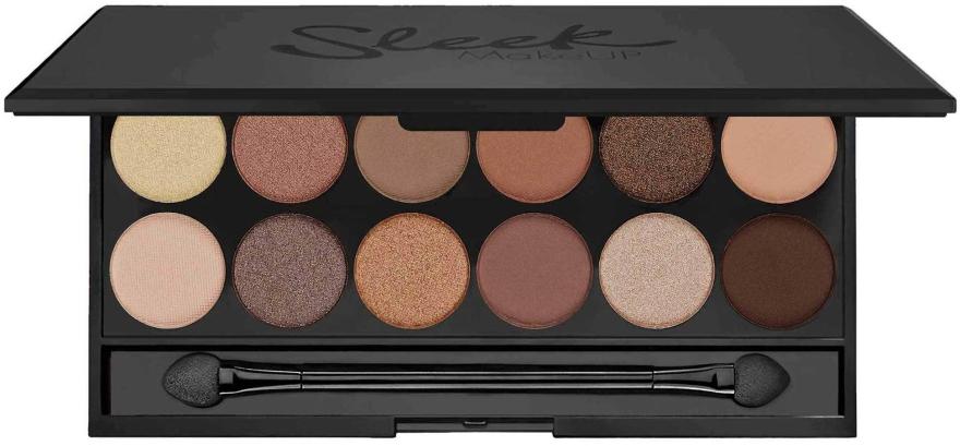 Paleta cieni do powiek - Sleek MakeUP i-Divine Mineral Based Eyeshadow Palette A New Day — фото N1