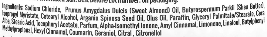 Peeling solny z olejem arganowym - GlySkinCare Argan Oil Salt Scrub — фото N2