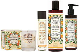 Kup PRZECENA! Panier Des Sens Orange Blossom - Zestaw (b/lot/250ml + shr/gel/250ml + edt/50ml + candle/180g) *