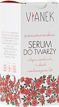Kup Przeciwzmarszczkowe serum do twarzy z koenzymem Q10 - Vianek Seria czerwona ujędrniająca