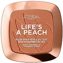 Kup Róż do policzków - L'Oreal Paris Life's A Peach Skin Awakening Blush