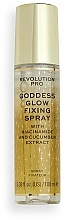 Kup Spray do utrwalania makijażu - Revolution Pro Goddess Glow Setting Spray
