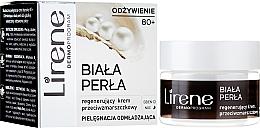 Kup Regenerujący krem przeciwzmarszczkowy na dzień i noc 80+ Biała perła - Lirene