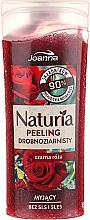 Kup Myjący peling drobnoziarnisty Czarna róża - Joanna Naturia Peeling