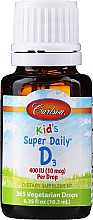 Kup Witamina D3 - Carlson Labs Kid's Super Daily D3