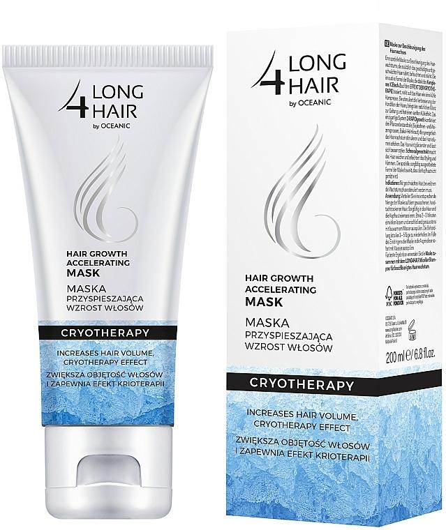 Maska przyśpieszająca wzrost włosów z efektem krioterapii - Long4Hair Krioterapia