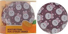 Kup Podwójny pomarańczowy balsam do ust w słoiczku - SeaNtree Moisture Steam Dual Lip Balm Orange 3