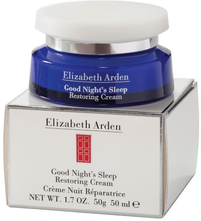 Odbudowujący krem do twarzy na noc - Elizabeth Arden Good Night`s Sleep Restoring Cream — фото N2