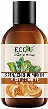 Kup Woda micelarna do twarzy Szpinak i dynia - Eco U Pumpkins And Spinach Micellar Water