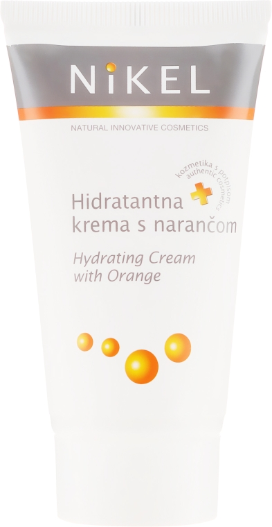 Nawilżający krem do twarzy z pomarańczą - Nikel Hydrating Cream With Orange — фото N2