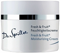 Kup Lekki krem nawilżający - Dr. Spiller Fresh & Fruit Moisturizing Cream
