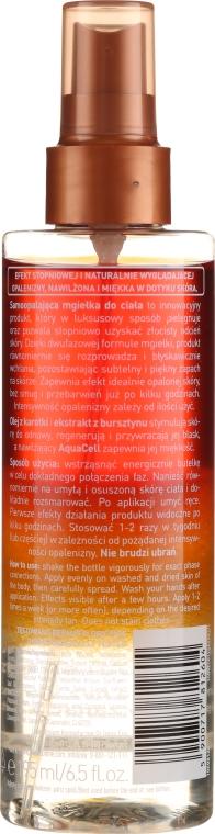 Brązująca mgiełka do ciała - Lirene Bronze Collection Self-Tanning Spray — фото N2