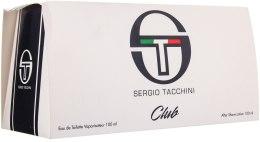 Kup Sergio Tacchini Club - Zestaw (edt 100ml + a/sh/lot 100ml)