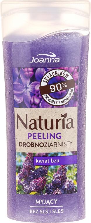 Myjący peeling drobnoziarnisty Kwiat bzu - Joanna Naturia Peeling