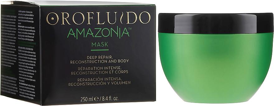 Regenerująca maska do włosów - Orofluido Amazonia Mask — фото N1