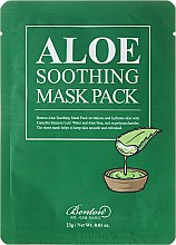 Kup Kojąca maska aloesowa do twarzy na tkaninie - Benton Aloe Soothing Mask Pack