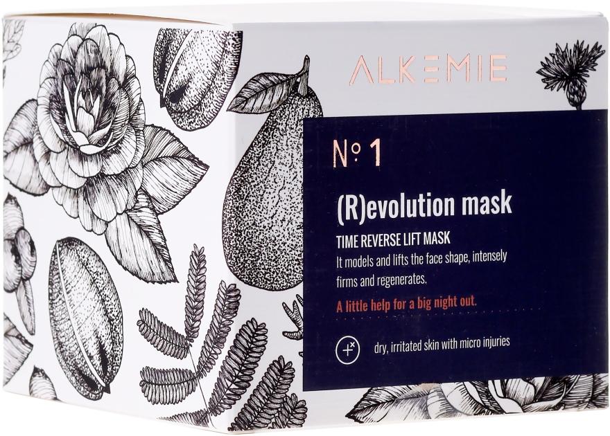 Odmładzająca maska do twarzy na noc - Alkemie Revolution Mask — фото N1