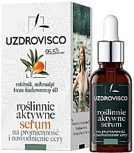 Kup Aktywne roślinne serum do twarzy na promienność i nawodnienie cery - Uzdrovisco