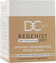 Kup Naprawczy krem intensywnie regenerujący na noc 50+ - Dermedic Regenist ARS 5º Retinolike