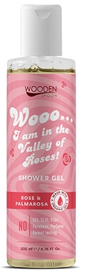 Żel pod prysznic - Wooden Spoon I Am In The Valley Of Roses! Shower Gel — фото N1