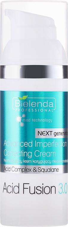 Normalizujący krem korygujący niedoskonałości - Bielenda Professional Acid Fusion 3.0 — фото N1