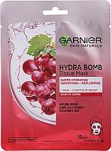 Kup Nawilżająca maska do twarzy na tkaninie - Garnier Skin Naturals Hydra Bomb