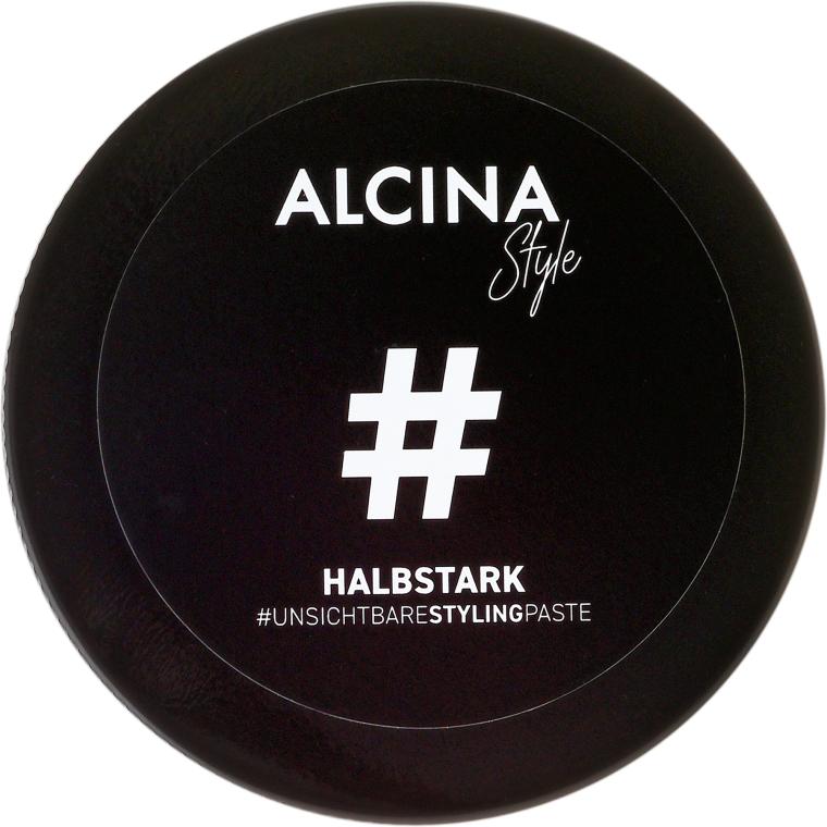Średnio utrwalająca pasta do włosów - Alcina Style Invisible Styling Paste — фото N1