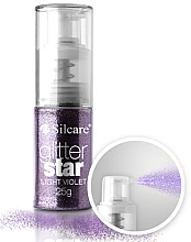 Kup PRZECENA! Brokat w sprayu do paznokci - Silcare Glitter Star *