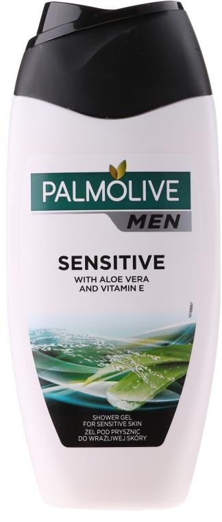 Żel pod prysznic z aloesem i witaminą E dla mężczyzn - Palmolive Men Sensitive