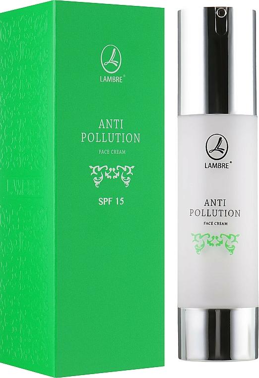 Miejski krem do twarzy SPF 15 - Lambre Anti Pollution SPF15 — фото N1
