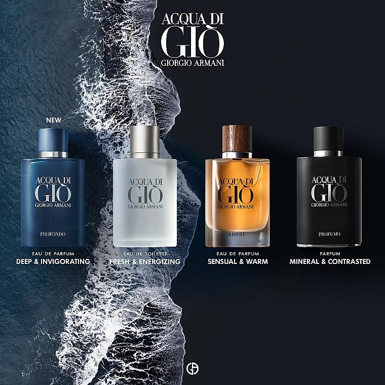 Giorgio Armani Acqua di Gio Profondo - Woda perfumowana — фото N4