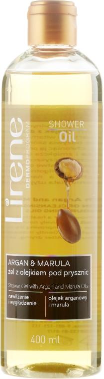 Żel z olejkiem pod prysznic - Lirene Shower Oil Argan & Marula