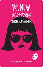 Kup Rozjaśniająca maseczka do twarzy w płachcie - Rainbow L'Affair K-Mask Sheet W.N.V Brightening Tone Up Mask