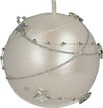 Kup Świeca dekoracyjna biała, 8 cm - Artman Christmas Garland