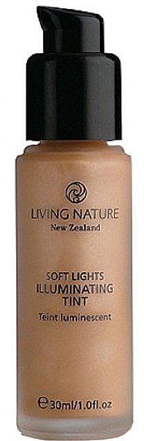 PRZECENA! Rozświetlający podkład do twarzy - Living Nature Soft Lights Illuminating Tint * — фото N1