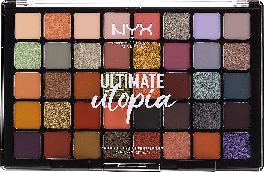 Paleta cieni do powiek - NYX Ultimate Utopia Shadow Palette Summer 2020
