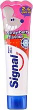 Kup Truskawkowa pasta do zębów dla dzieci - Signal Kids Strawberry Flavor